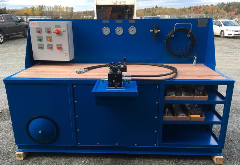 banc-de-test-pour-vérin-hydrauliques